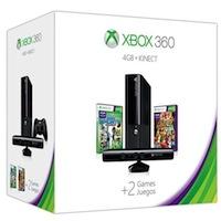 XBox 360E 4G (Slim)+Kinect+ Sports 2+Карта подписки 1 месяц