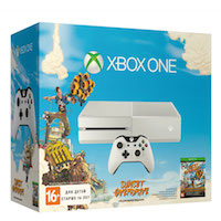XBox One 500G (White), Sunset Overdrive