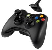 Комплект беспроводного геймпада с зарядным устройством для Xbox 360