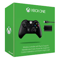 Controller Black Wireless + Play & Charge Kit Black (Xbox ONE)
