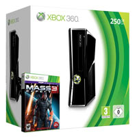 XBox 360 250G (Slim)+Mass Effect 3