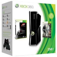 XBox 360 250G (Slim)+Crisys 2+Forza 3+3М Live Gold
