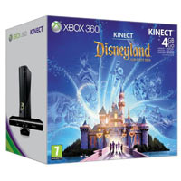 XBox 360 4G (Slim)+Kinect+ Disneyland Adventures