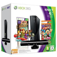XBox 360 4G (Slim)+Kinect +Carnival Games+ 3М Live
