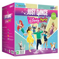 XBox 360 4G (Slim)+Kinect+ Disneyland Adventures+Just Dance: Disney Party