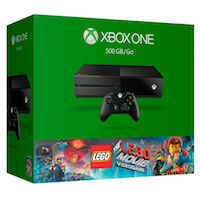 XBox One 500GB, Lego Movie Videgame