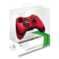 Беспроводной геймад для Xbox 360 Chrome Red
