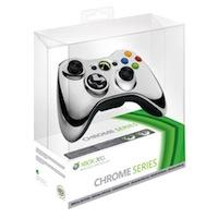 Беспроводной геймад для Xbox 360 Chrome Silver