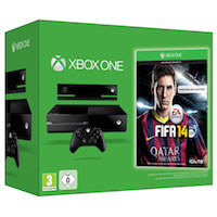 XBox One 500G, Kinect2, Fifa 14